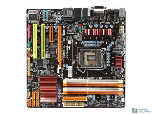 映泰th55xe主板采用日本化工pse全固态电容设计,除了采用量子芯