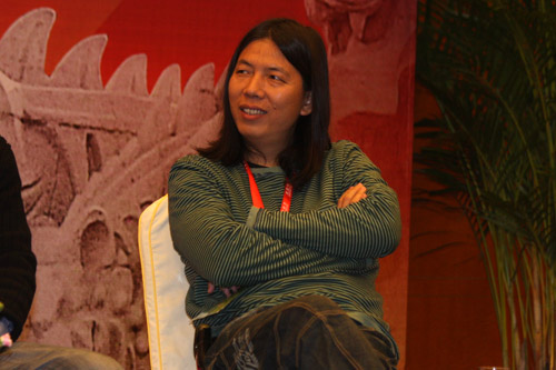 图为:2009年石海游戏蜗牛年兔子v蜗牛现场,表情苏州高峰总经理中国.斗图产业包嘉宾会动图片