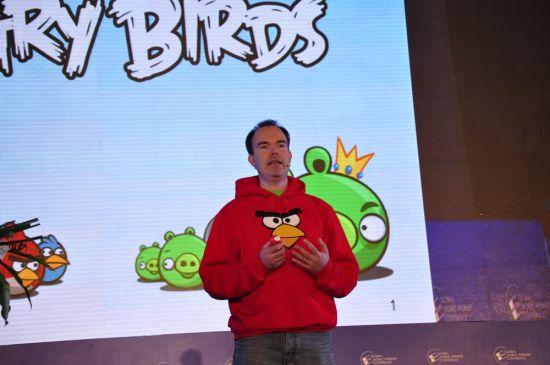 Rovio Mobile(愤怒的小鸟)全球市场发展总经理演讲