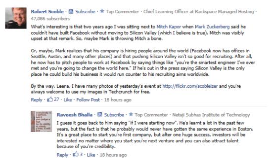 使用Facebook comments系统发布在其他网站上的评论