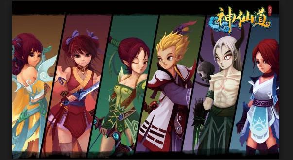 """神仙道是光环游戏的第二款产品,由于第一款产品的失败,神仙道的诞生环境可以用""""恶劣""""这个词来形容。"""