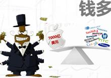 苹果市值:钱多了就是烦!