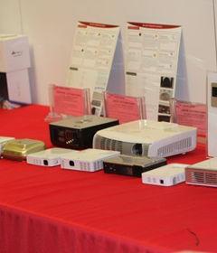 DLP Pico投影CES2012齐亮相
