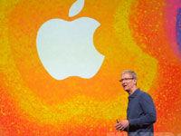 苹果CEO蒂姆・库克登场