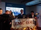 EMC高管为北京研发中心揭幕