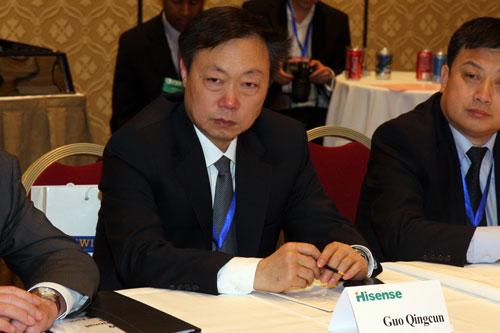 海信集团副总裁郭庆存