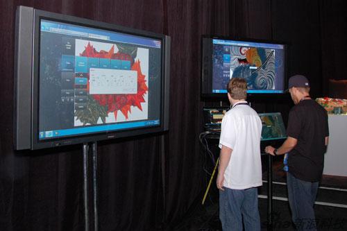 科技时代_图文:微软IE9 Beta发布会演示现场