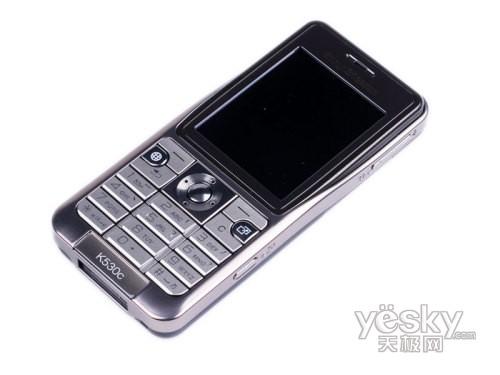 行唯美路线索爱轻巧3G手机K530c评测