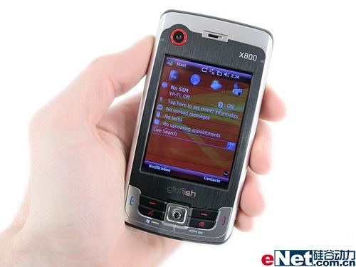 内置GPS功能倚天超薄智能机X800图赏(6)