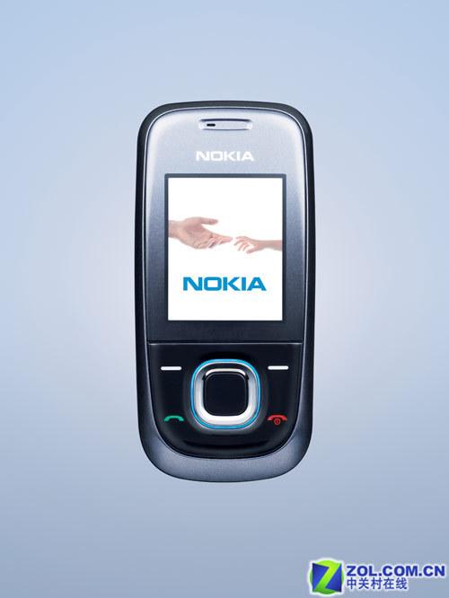 低端系列诺基亚发布滑盖手机2680s