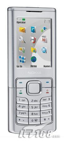 不锈钢超薄机身诺基亚银色6500c即将发布