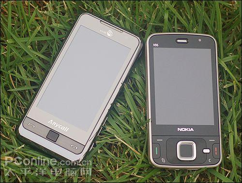 大战一触即发诺基亚N96与三星i908评测