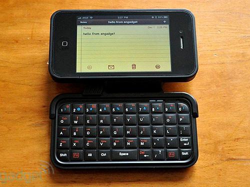 350元拿走iPhone4专用蓝牙全键盘开卖
