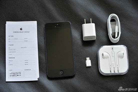 细节仍有不同 联通电信iPhone 5全对比