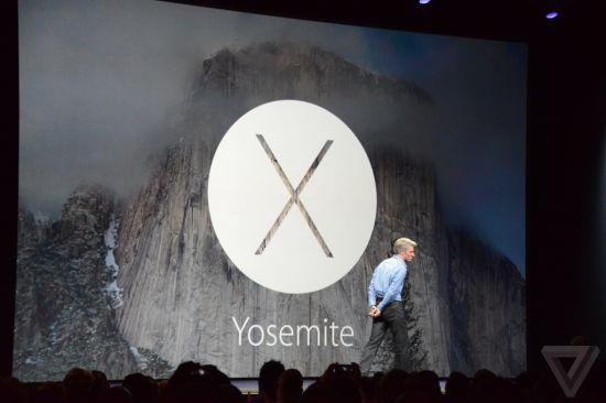 苹果公司发布全新桌面操作系统优胜美地(Yosemite)