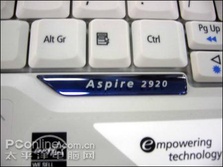 宏基12宽集显笔记本Aspire2920报5999