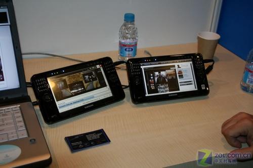 英特尔IDF技术峰会三星展示MID产品