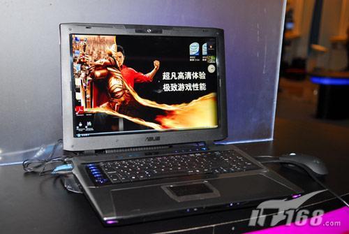 [IDF08]华硕顶级游戏笔记本G70S现身