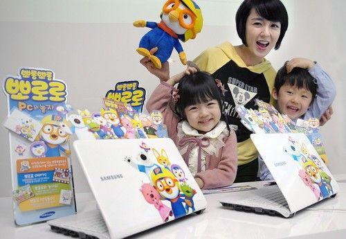 三星发布韩国人气动画片主题上网本(图)
