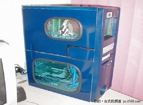 台式电脑主机箱内部结构图