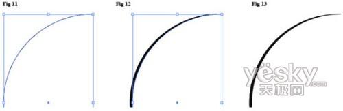 Illustrator中线条宽度与质量的精确控制