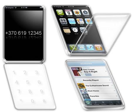 苹果折叠版iPhone设计方案曝光