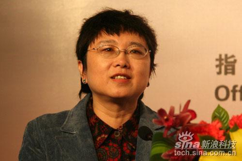 科技时代_图文:CCSA网络技术工作委员会主席赵慧玲