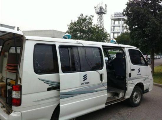 爱立信的TD-LTE测试车