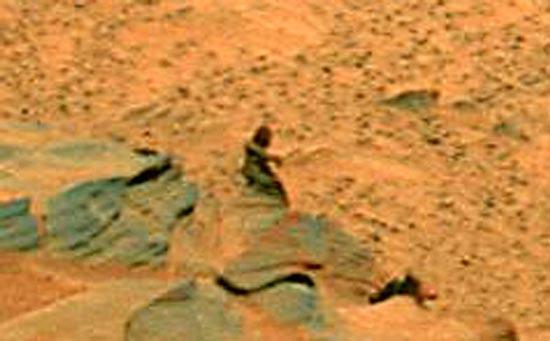 勇气号探测器火星发现人形疑似岩石(组图)