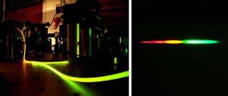 英国科学家用光纤和激光模拟黑洞(图)