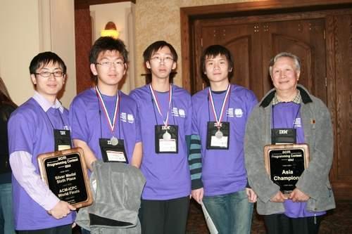 俄罗斯大学获国际大学生程序大赛冠军清华第六