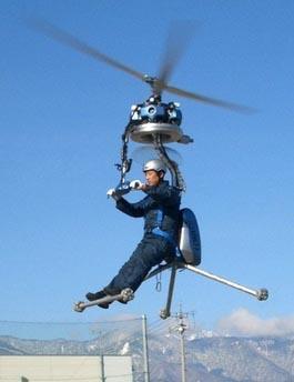 世界最小单人直升机将试飞(图)