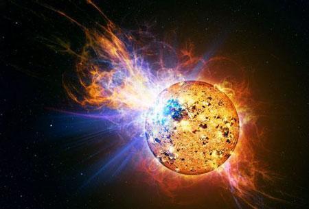 16光年外小恒星大爆发相当数千太阳耀斑(图)