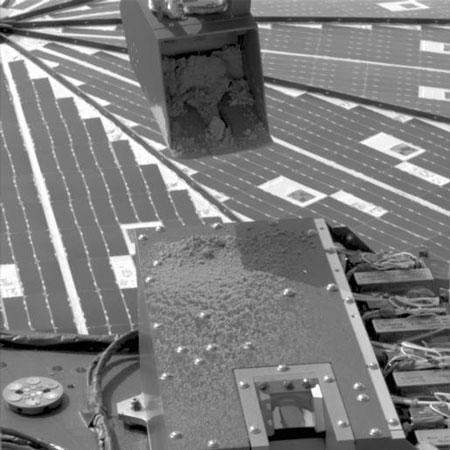 凤凰号烤箱成功填满火星土壤(图)
