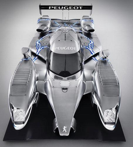 法国推出新型赛车可回收刹车过程能量(组图)