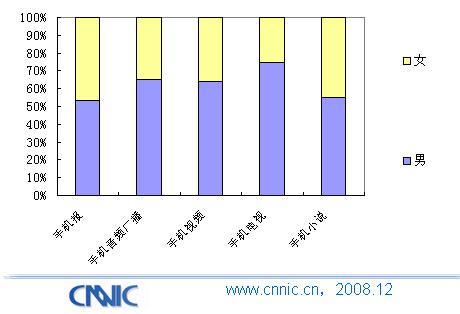 中国手机媒体报告:手机媒体业务比较分析