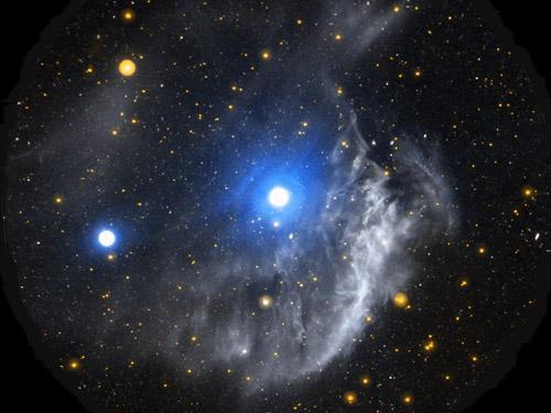 国际天文年精彩宇宙图片:奇特的宇宙之手