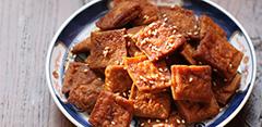 年夜饭准备:蜜汁豆干(组图)