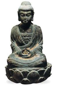 北宋嘉�v年间 阿弥陀佛坐像