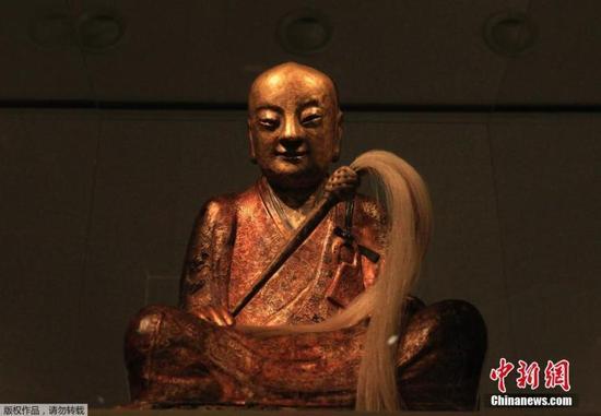 肉身佛像荷兰藏家:佛像若属于中国愿意归还