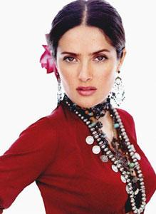 墨西哥玫瑰--处女座萨尔玛-海耶克(附图)