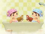 在线游戏:12星座宝宝洗澡趣味拼图(组图)