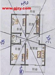 住宅与环境:门与门相对的化解方法(图)