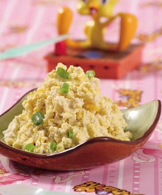 豆腐蛋黄泥
