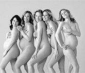 裸体孕妇公益照