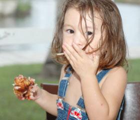 儿童误吞水银可大口喝牛奶