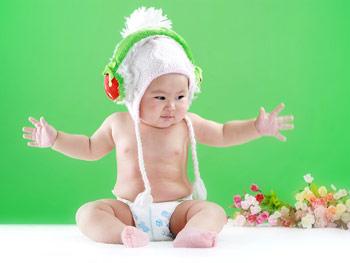宝宝皮肤干抹点硅霜(图)
