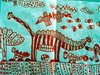 在幼儿园的美术作品