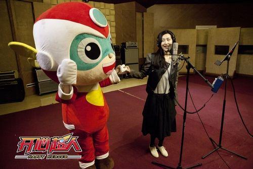 快女 杨洋唱 开心超人 主题曲