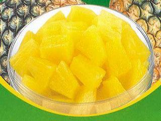 饭后吃菠萝,有助消化(图)